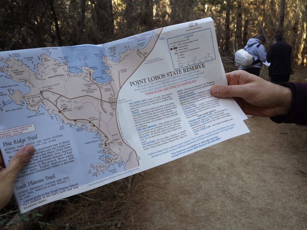 Point-Lobos-Hiking-Map