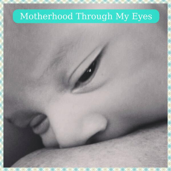 Motherhood Through My Eyes button