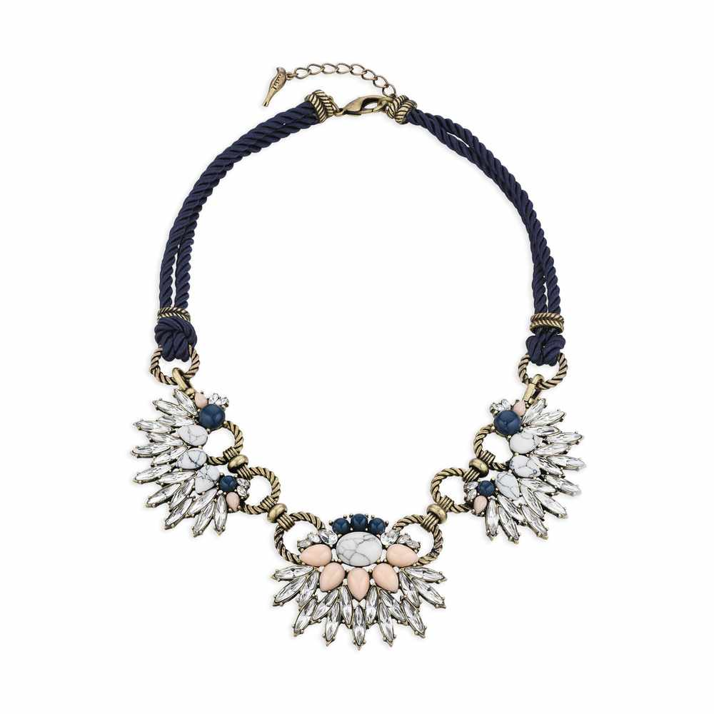 Navy Chain Morningtide Necklace